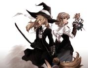 konachan-com-103436-alice_margatroid-hat-kirisame_marisa-namatarou-short_hair-touhou