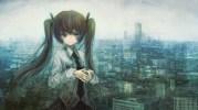 Konachan_com - 83467 city hatsune_miku landscape scenic vocaloid